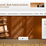 Website for The Hispanic Bar Association of Central Florida