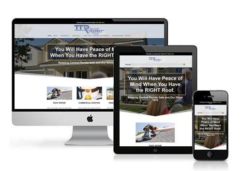 Tip Top Roofing Launches New Website
